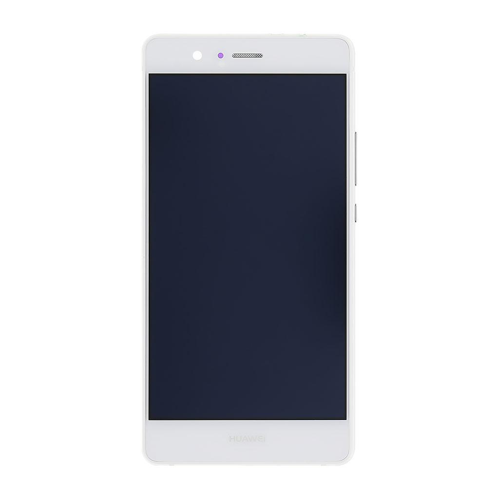 LCD display + dotyk. deska + př. kryt pro Huawei Ascend P9 Lite, bílý
