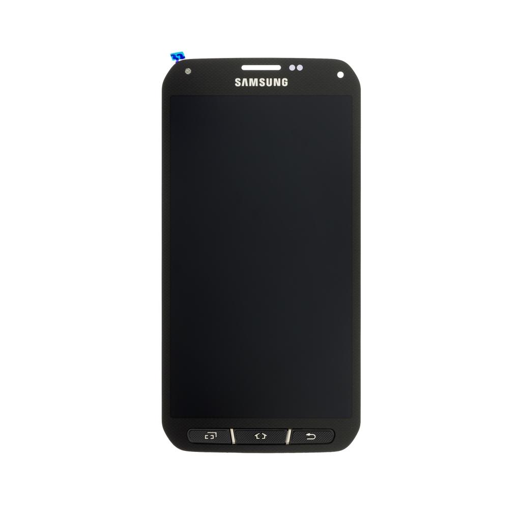 LCD display + dotyková deska pro Samsung Galaxy S5 Active (G870F), černá
