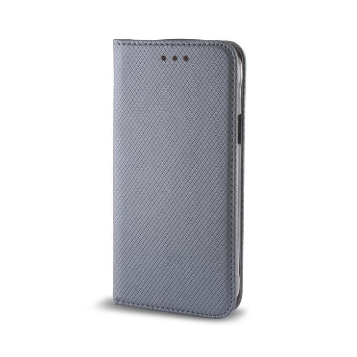 Smart Magnet flipové pouzdro Sony Xperia M5 steel
