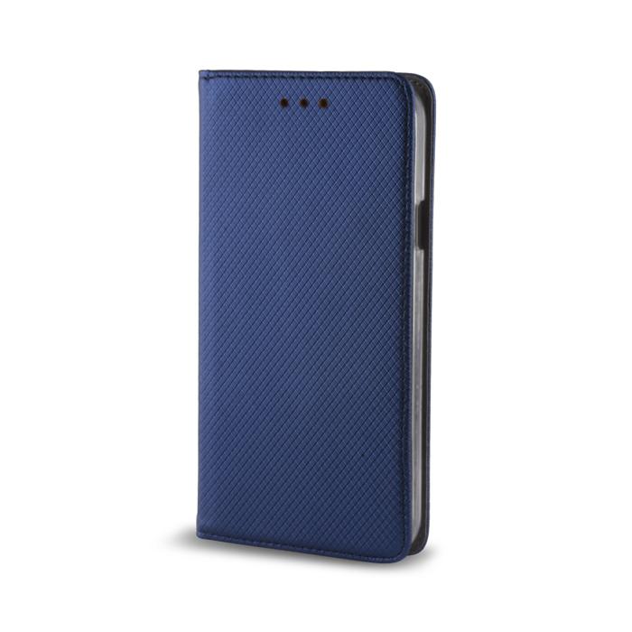 Smart Magnet pouzdro flip Sony Xperia M4 Aqua tmavě modré