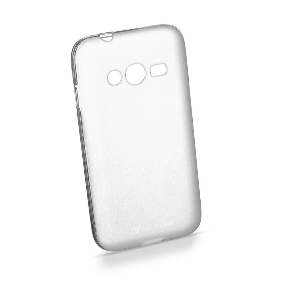 Cellularline SHAPE silikonové pouzdro pro Samsung Galaxy Trend 2, Trend 2 Lite