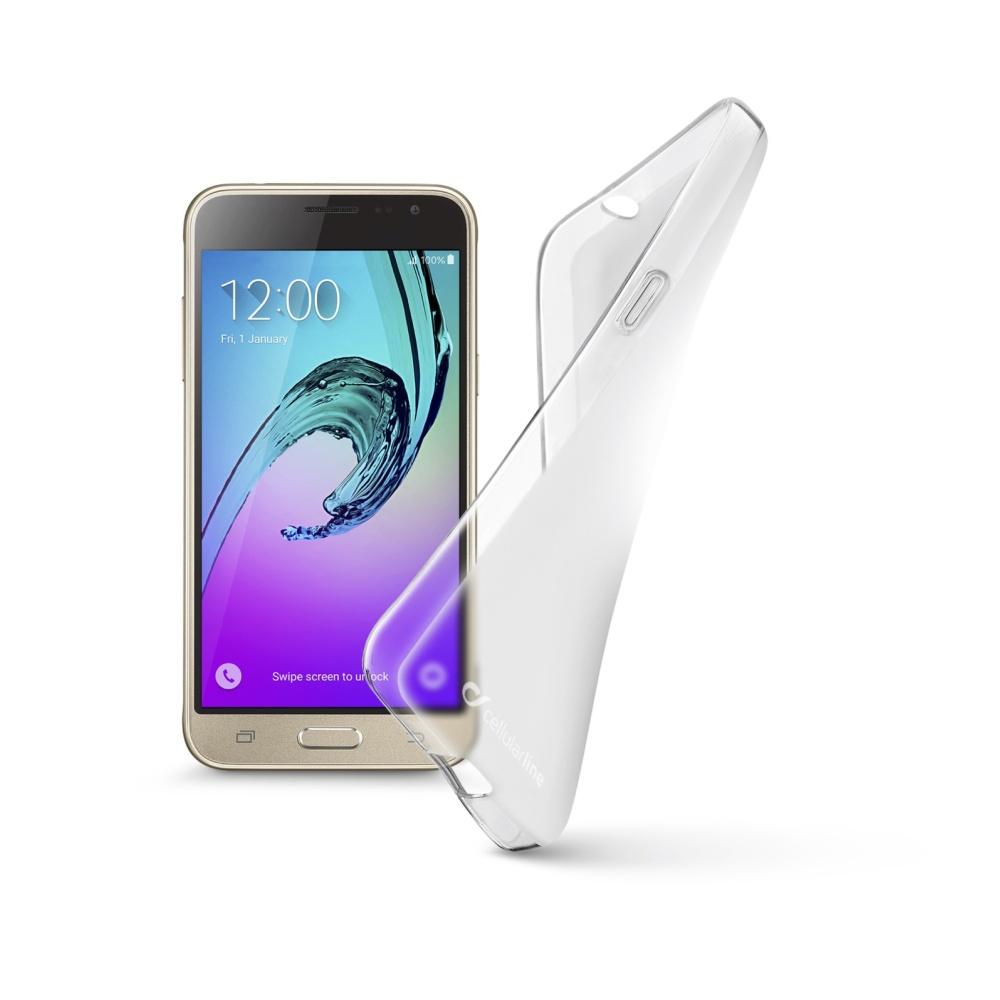 Cellularline SHAPE silikonové pouzdro pro Samsung Galaxy J3 (2016)