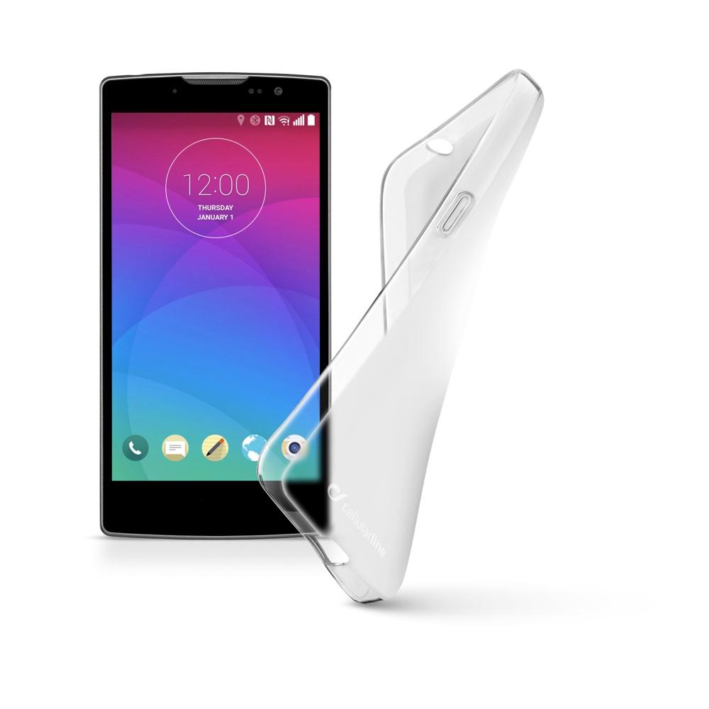 Cellularline SHAPE silikonové pouzdro pro LG Spirit