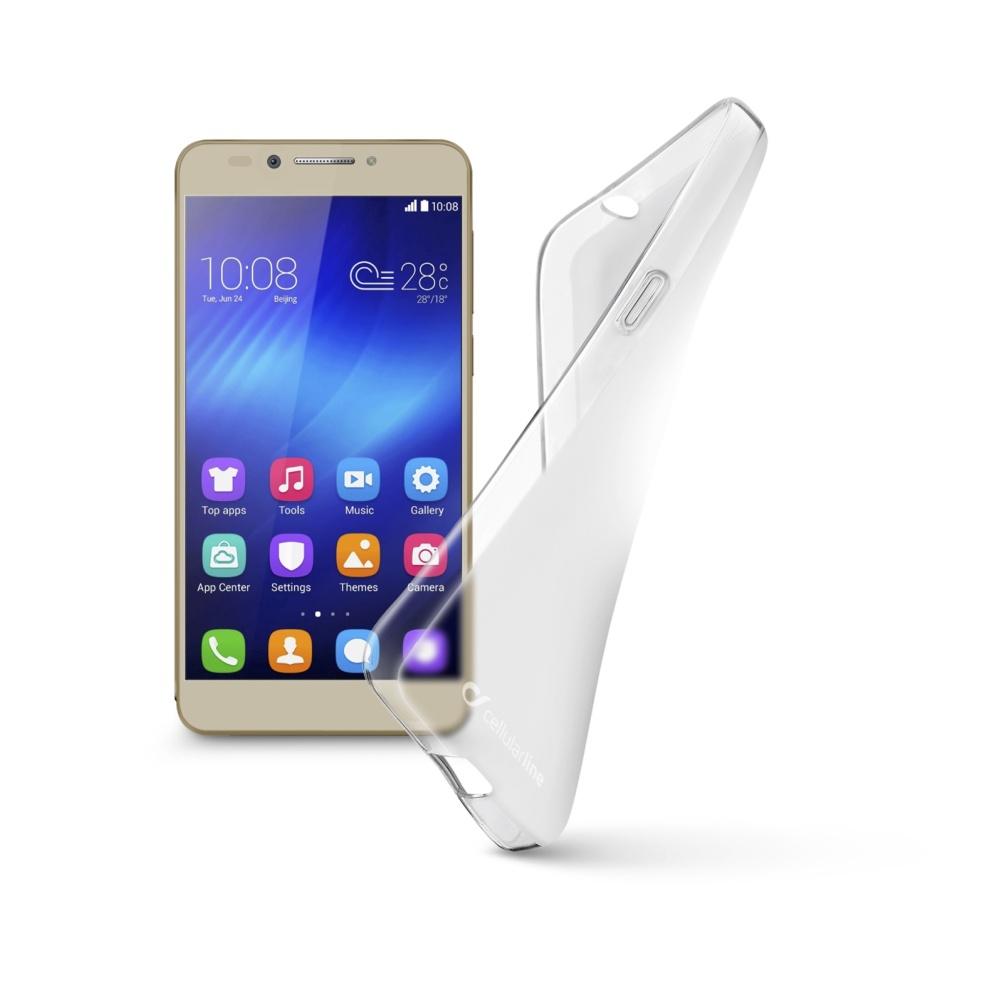 Cellularline SHAPE silikonové pouzdro pro Huawei Honor 7