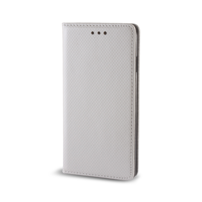 Smart Magnet flipové pouzdro Samsung Galaxy J3 2016 metalic