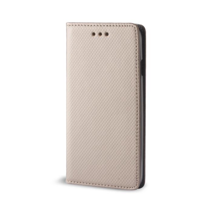 Smart Magnet flipové pouzdro Samsung Galaxy J3 2016 zlaté