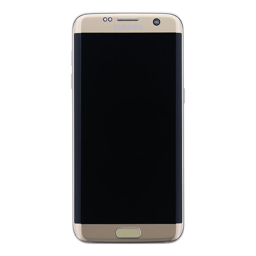 LCD display + dotyk. deska pro Samsung Galaxy S7 Edge (G935), zlatá