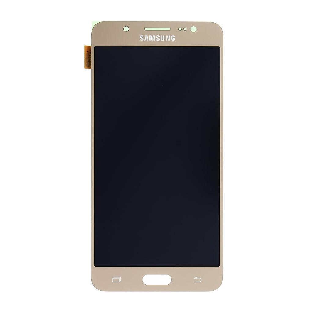 LCD display + dotyk. deska pro Samsung Galaxy J5 (J510) 2016, zlatá