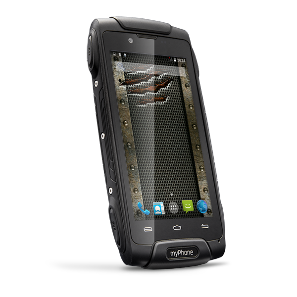 CPA myPhone HAMMER AXE 3G Dual SIM BlackZDARMA Protiskluzová podložka pro mobilní telefony v hodnotě 199 Kč. + DOPRAVA ZDARMA