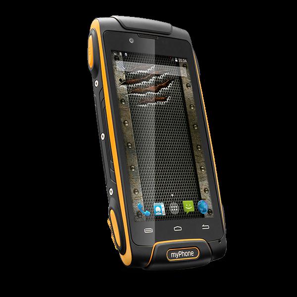 CPA myPhone HAMMER AXE 3G Dual SIM Orange / Black