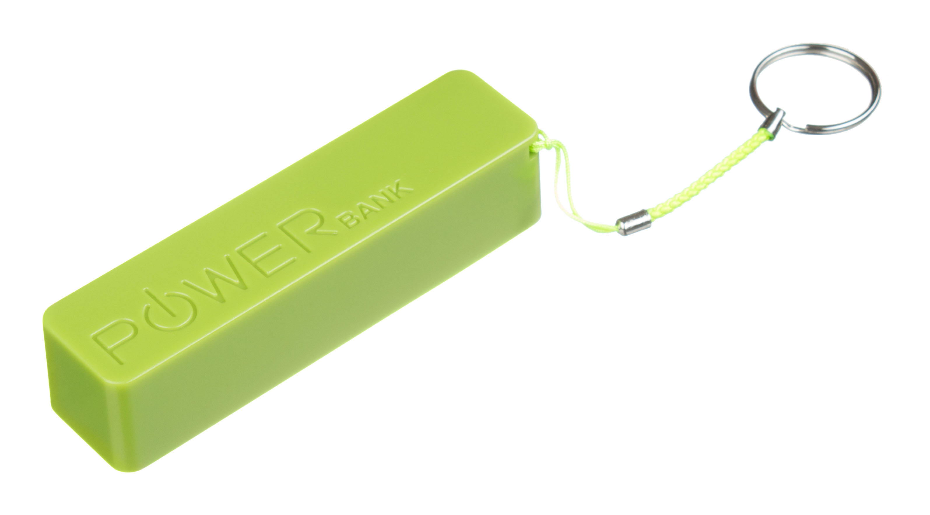 Power bank CONNECT IT COLORZ 2600 mAh, 1A, zelený