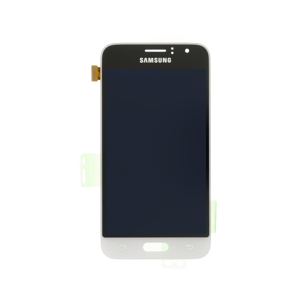 LCD display + dotyk. deska pro Samsung Galaxy J1 (J120) 2016, bílá