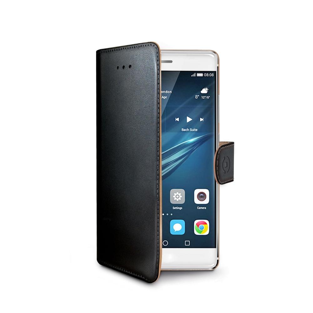 CELLY Wally flipové pouzdro Huawei P9 Plus černé
