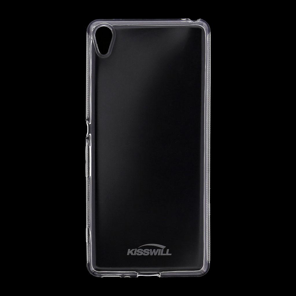 Silikonové pouzdro Kisswill pro Sony F3311 Xperia E5 transparentní