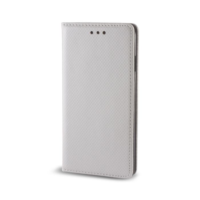 Smart Magnet flipové pouzdro Samsung Galaxy S6 Edge metalic