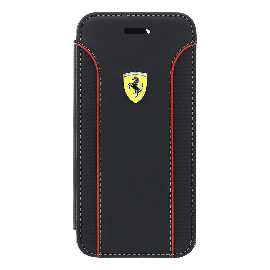 Ferrari Fiorano pouzdro flip FEDA2IFLBKS7BL Samsung Galaxy S7 černé