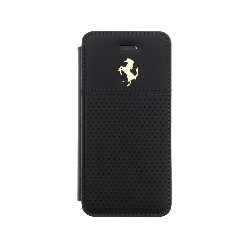 Ferrari GTB pouzdro flip FEGTBGFLBKPSEBK Apple iPhone 5/5S/SE černé