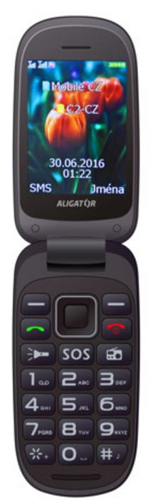 Aligator V400 Senior Black / Blue