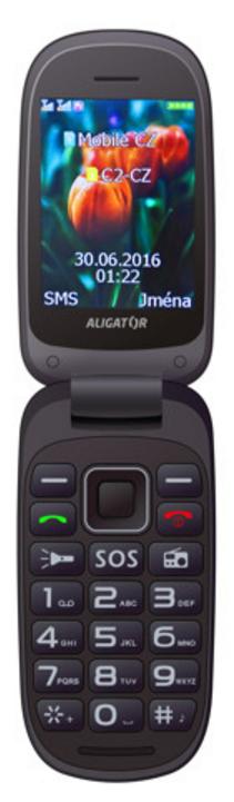 Aligator V400 Senior Black / Grey