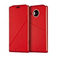 Mozo Notebook flipové pouzdro Microsoft Lumia 950 XL červené