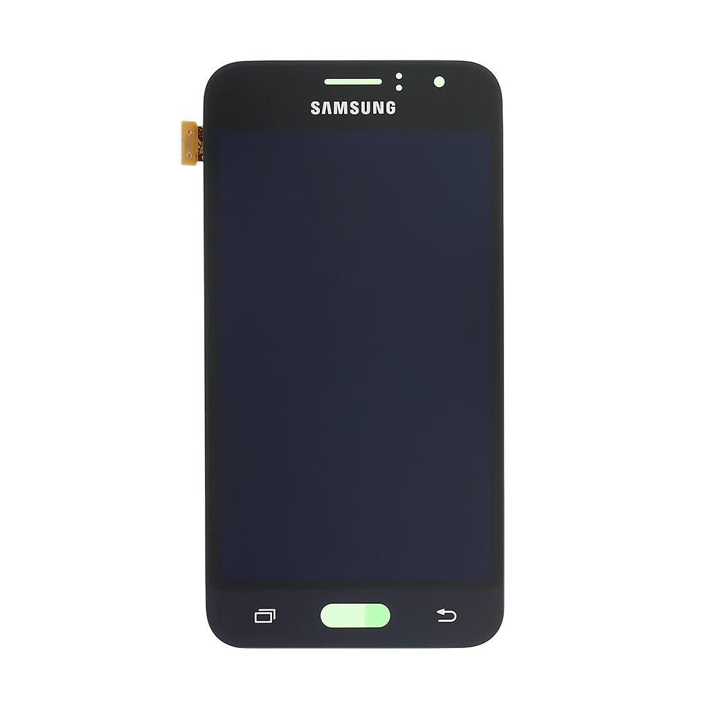 LCD display + dotyk. deska pro Samsung Galaxy J1 (J120) 2016, černá
