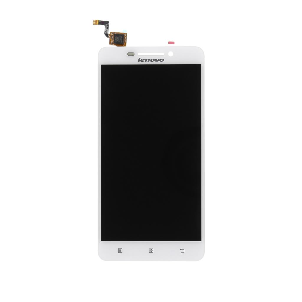 LCD display + dotyková deska pro Lenovo A5000, bílá