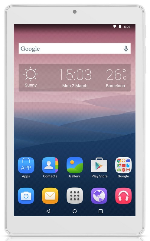Alcatel OneTouch PIXI 3 (8) WIFI, White