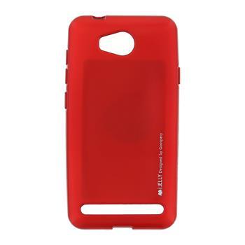 Silikonové pouzdro Mercury i-Jelly METAL pro Huawei Y3 II, Red