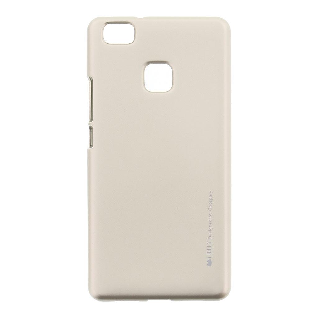 Mercury i-Jelly Case silikonové pouzdro pro Huawei P9 Lite Metal Gold
