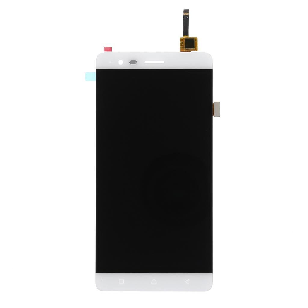 LCD display + dotyková deska pro Lenovo K5 Note, stříbrná