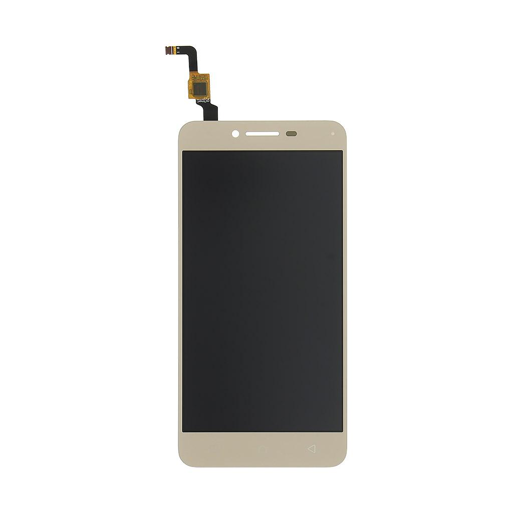LCD display + dotyková deska pro Lenovo K5, zlatá