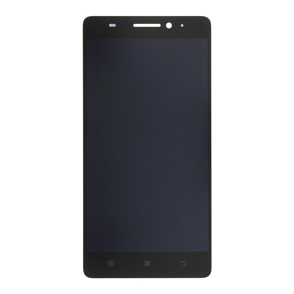 LCD display + dotyková deska pro Lenovo K5, černá