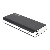 Power Bank OMEGA 10000 mAh, Li-on, 2xUSB, 1A + 2.1A, černo-bílá