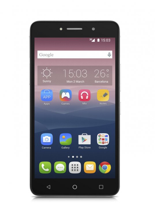Alcatel Pixi 4 (6) 8050D Metal Silver