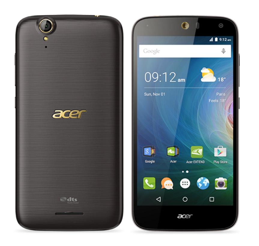 Acer Liquid Z630S Black Gold