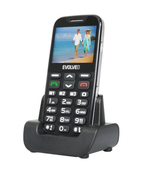 Evolveo EasyPhone XD Black
