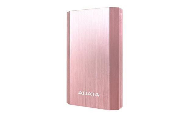 Power Bank ADATA A10050, 10050mAh, Typ A USB, růžové zlato