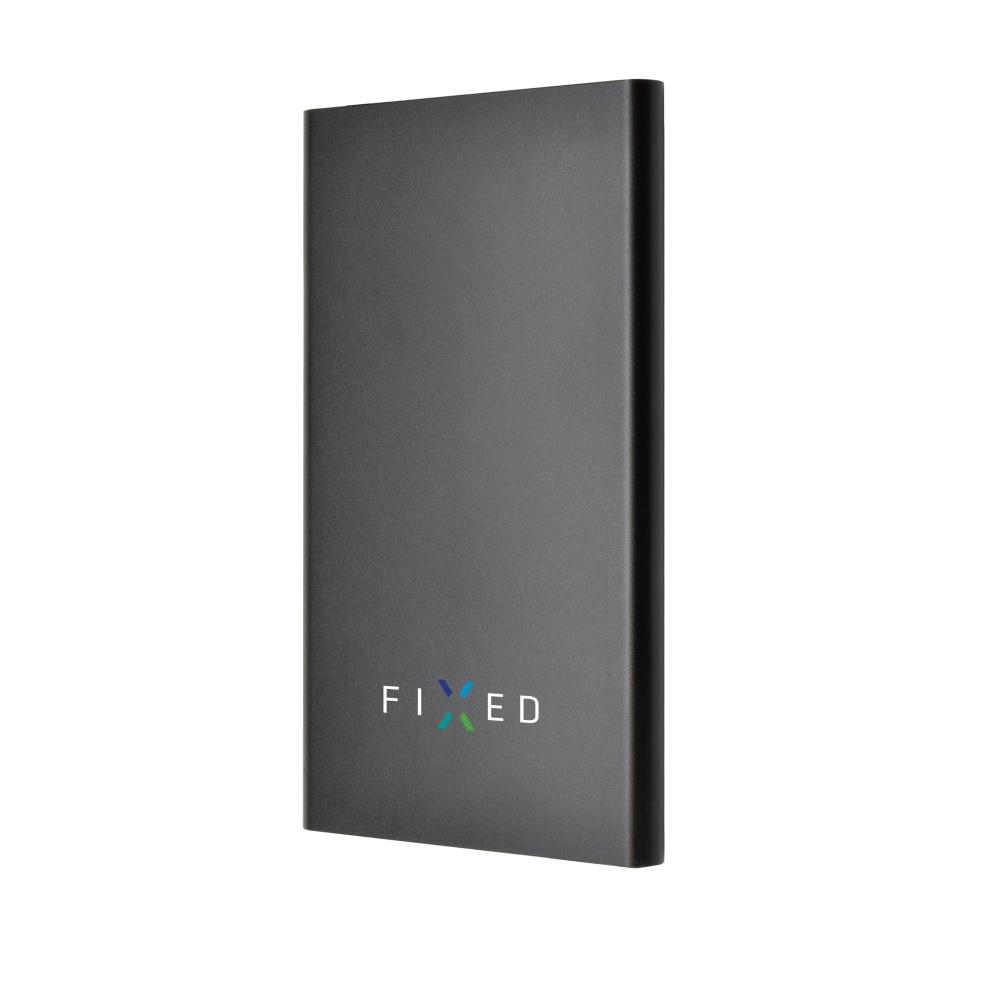 Powerbanka FIXED Zen 5000 v kompaktní velikosti, černá