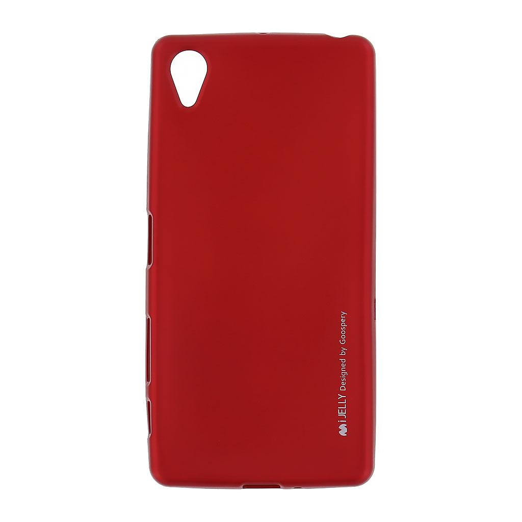 Mercury i-Jelly Case silikonové pouzdro pro Sony F8131 Xperia X Performance Metal Red