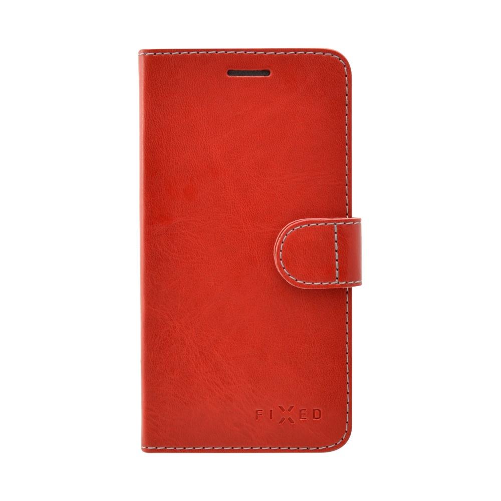 FIXED FIT flipové pouzdro Huawei Y6 II Compact červené