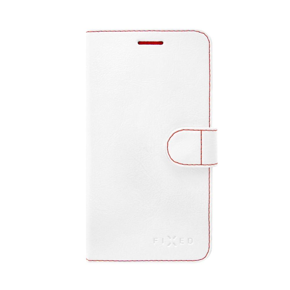 FIXED FIT flipové pouzdro Huawei Y6 II Compact bílé