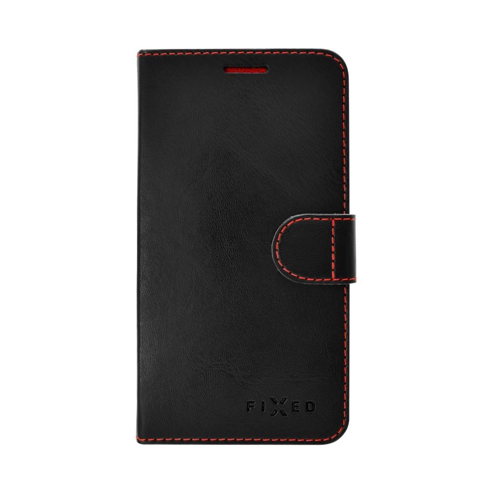 FIXED FIT flipové pouzdro Huawei Y6 II Compact černé