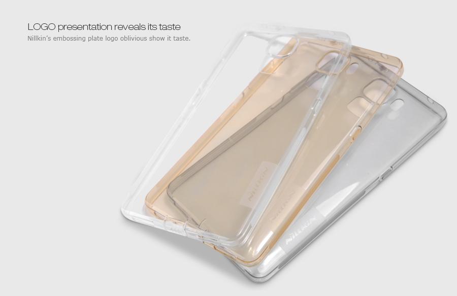 Nillkin Nature silikonové pouzdro pro Honor 7 Lite šedé