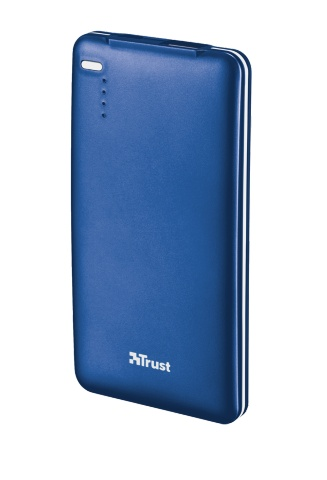 Powerbank TRUST 4000T Thin Portable Charger - blue