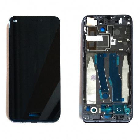 LCD displej + Dotyková deska + přední kryt pro Xiaomi Mi 5 Black