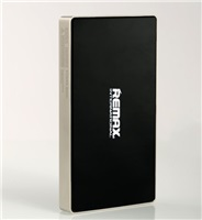 Powerbank REMAX SUPERALLOY 6000 mAh, 2,1A výstup, zlatočerná