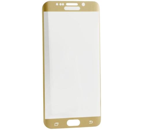 Tvrzené sklo Blue Star na displej a celé tělo pro Samsung Galaxy S7 Edge (SM-G935F), zlatá