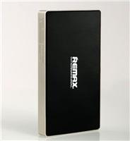 Powerbank REMAX SUPERALLOY 6000 mAh, 2,1A výstup, stříbrnočerná