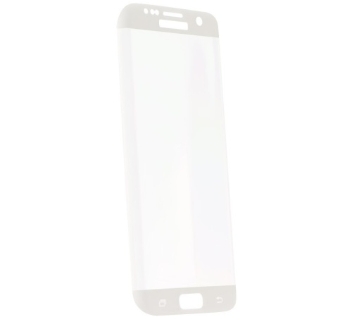 Tvrzené sklo Blue Star na displej a celé tělo pro Samsung Galaxy S7 Edge (SM-G935F), bílá