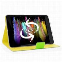 PURO BI-COLOR 360° pouzdro flip Apple iPad mini Retina zelené/žluté